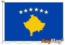 - KOSOVO ANYFLAG RANGE - VARIOUS SIZES